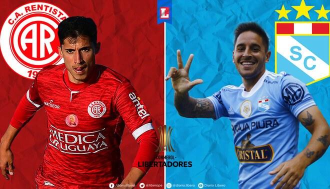 Sporting Cristal vs Rentistas se enfrentarán por la Copa Libertadores
