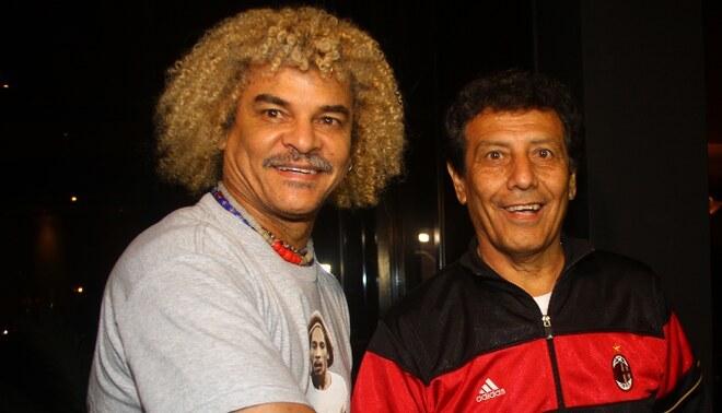 """'Pibe' Valderrama: """"César Cueto fue uno de los grandes jugadores que vino al fútbol colombiano"""". Créditos: GLR."""