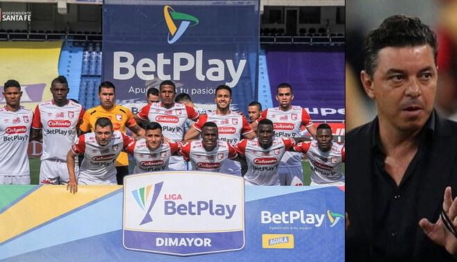 Santa Fe vs River Plate de Copa Libertadores quedó suspendido por la crisis en Colombia. Foto: Composición