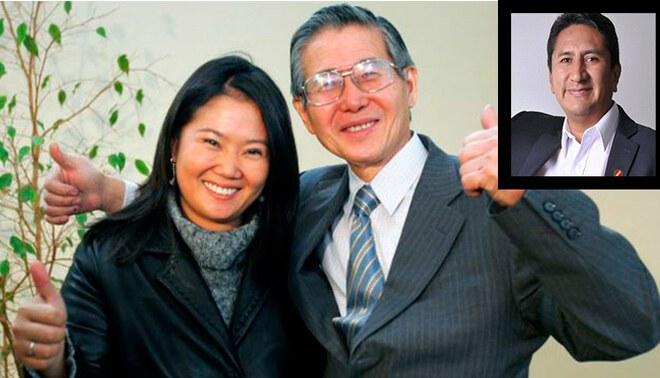 Vladimir Cerrón arremetió contra Keiko Fujimori y Fuerza Popular