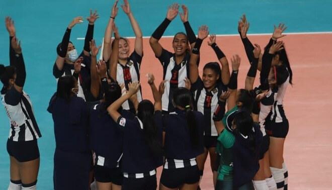 Alianza Lima mantiene su buen nivel en la Liga Nacional de Vóley y clasificó a las semifinales