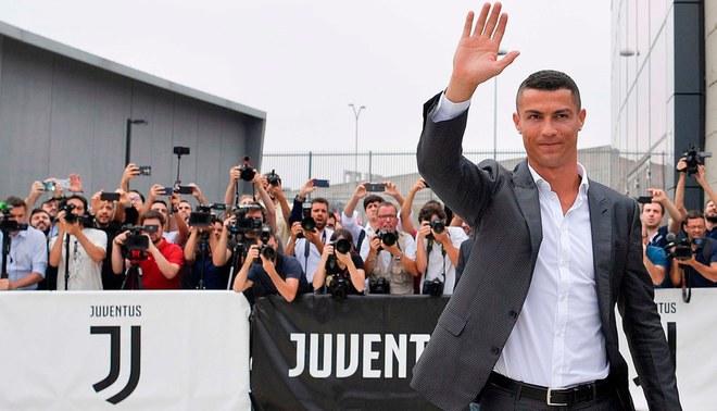 Cristiano Ronaldo es presentado oficialmente en la Juventus