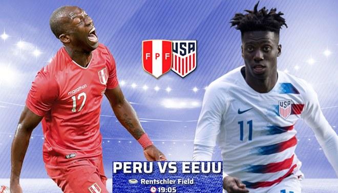 HOY Perú enfrenta a Estados Unidos desde Connecticut