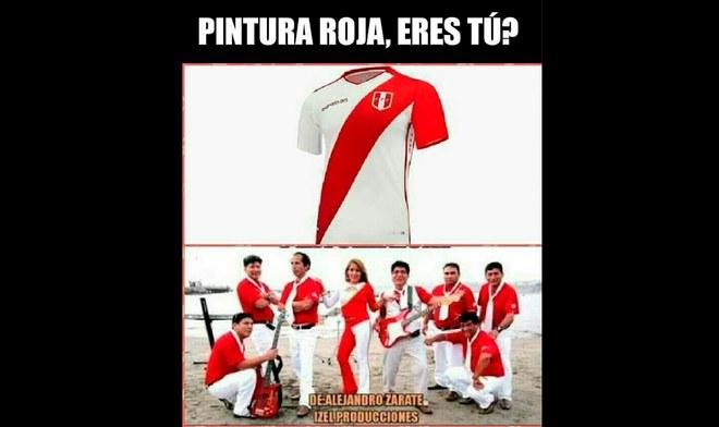 52692f721d7647 Facebook: Camiseta de la selección peruana genera divertidos memes previo a  Holanda [FOTOS]   libero.pe