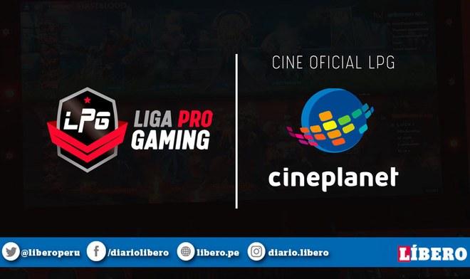 Dota 2, Liga Pro Gaming Season 6, Cineplanet, Video, Twitter