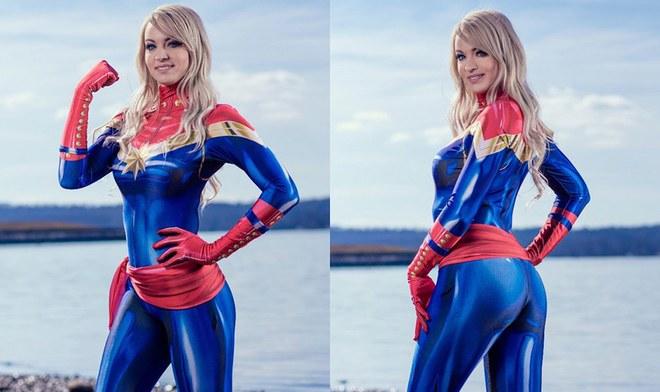 Instagram: Cosplay de Capitana Marvel emociona a fanáticos de Brie Larson y Marvel