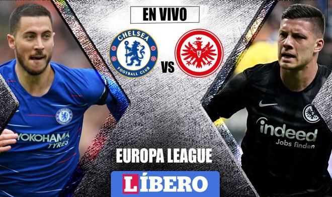 Chelsea vs Frankfurt EN VIVO por FOX Sports, beIN Y DAZN: horario y canal de Semifinal Europa League 2019