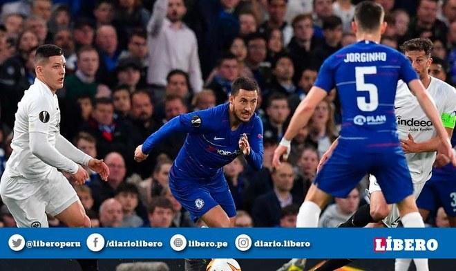 Chelsea vs Eintracht Frankfurt EN VIVO: igualan 1-1 por la semifinal de vuelta de la Europa League