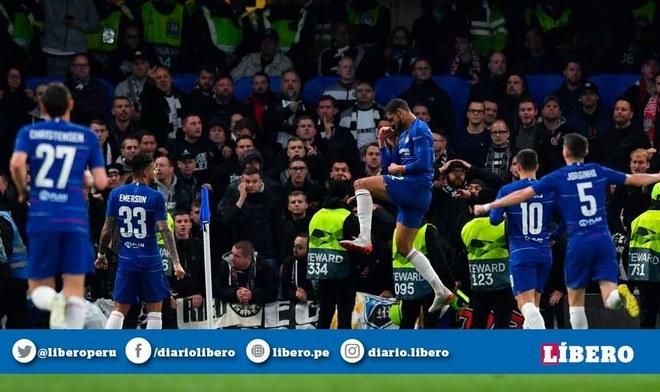 Chelsea venció en los penales a Eintracht Frankfurt y accedió a la final de la Europa League