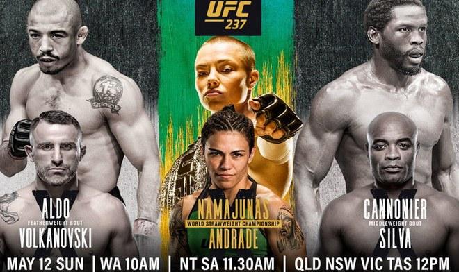 Toda acción del UFC se vivirá al máximo en Brasil