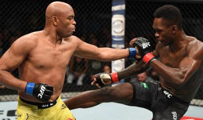 Anderson Silva enfrentó a Israel Adesanya en su último combate en el UFC. Foto: UFC.com