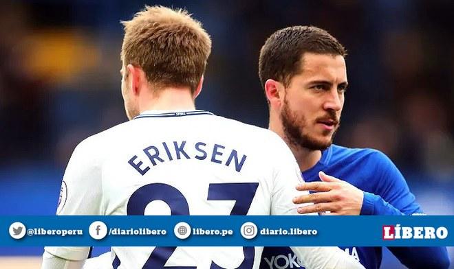 Eden Hazard y Christian Eriksen son fijos en el Real Madrid