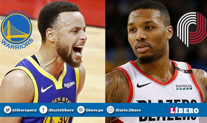 NBA EN VIVO: Warriors vs Blazers por la Conferencia Oeste
