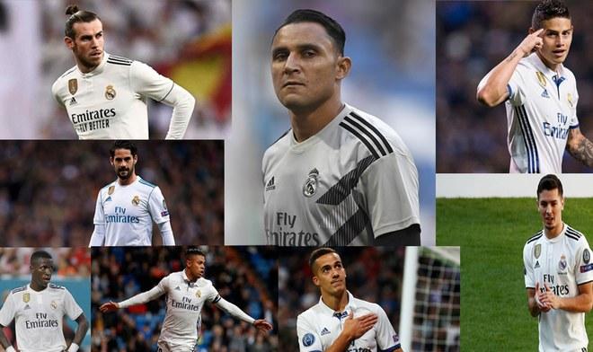 Real Madrid: Conoce a los 14 jugadores que abandonarán el cuadro español en la siguiente temporada