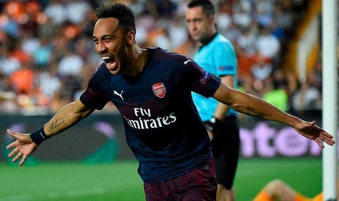 Arsenal podría perder al delantero gabonés (AFP)