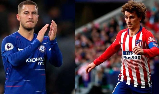 Hazard y Griezmann