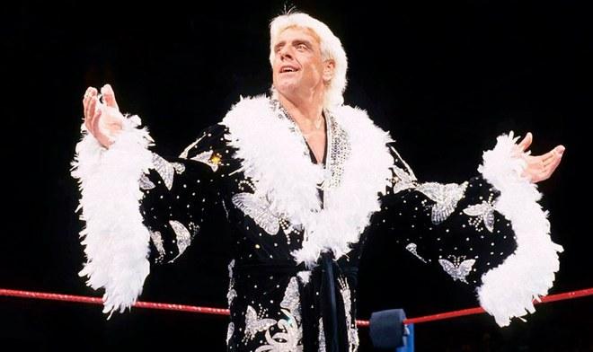 Ric Flair, legendario exluchador de WWE