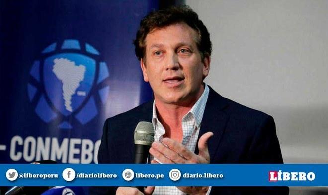 Alejandro Domínguez lidera a la Conmebol (CONMEBOL)