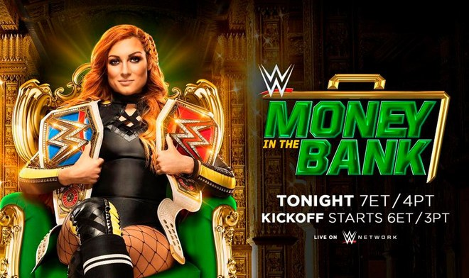 WWE Money in the Bank EN VIVO FOX Action GRATIS WWE Network ONLINE Seth Rollins | Becky Lynch: Día, fecha, hora, canal TV y cartelera del EN VIVO Money in the Bank 2019 | México