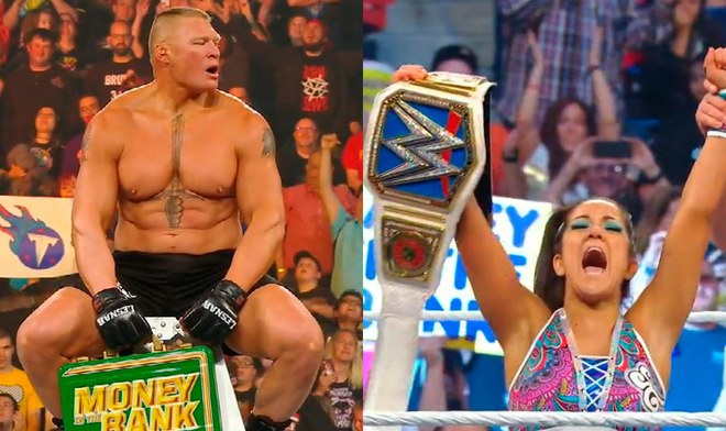 WWE Money in the Bank 2019: Brock Lesnar, Bayley, Seth Rollins, Becky Lynch y Kofi Kingstone son los protagonistas del evento PPV
