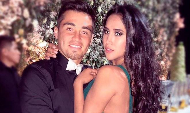 Melissa Paredes, esposa del Rodrigo Cuba, futbolista de Alianza Lima, recibió un disparo en el rostro   Foto: Instagram