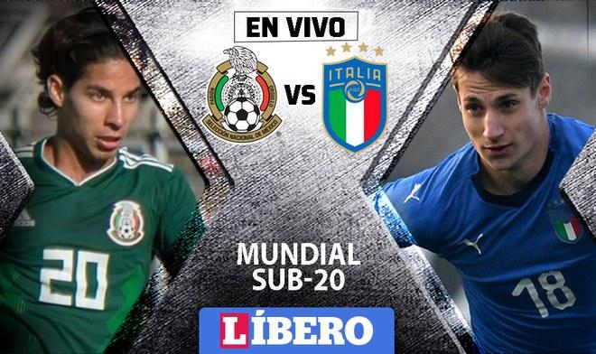 México vs Italia Sub 20
