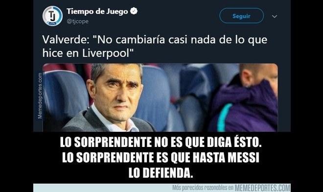 Memes de la derrota del Barcelona a manos del Valencia. Foto: Facebook
