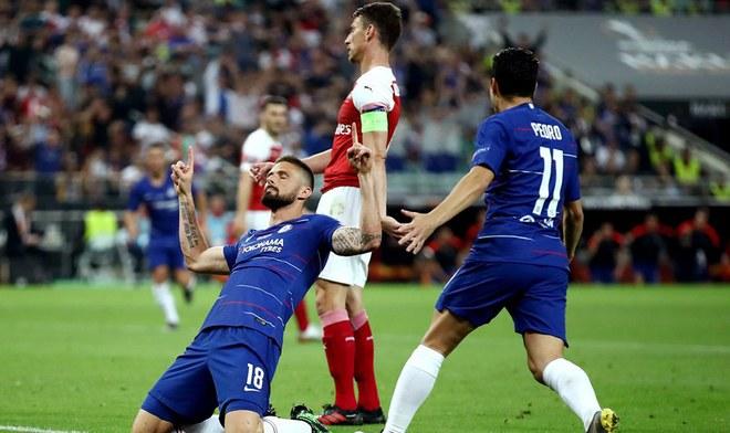 Chelsea campeón de la Europa League tras vencer al Arsenal. | Foto: Prensa UEFA