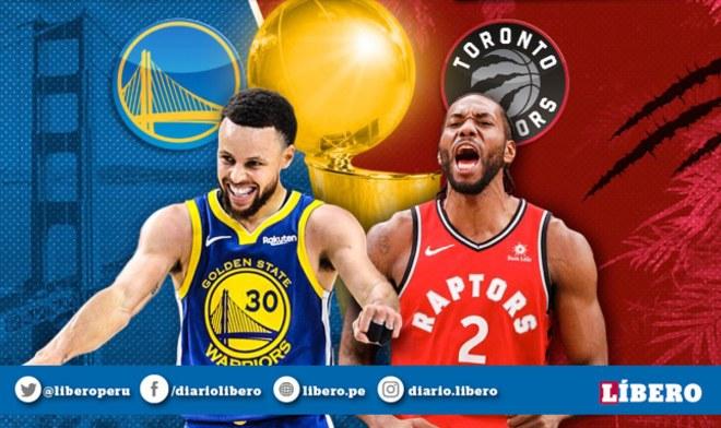 Warriors vs Raptors EN VIVO: Horarios de los partidos de la NBA.