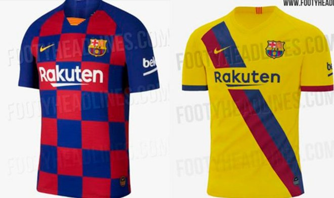 Barcelona - camisetas