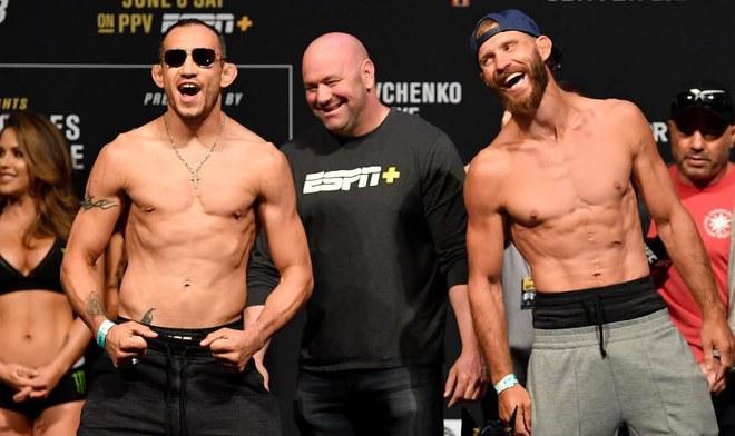 UFC HOY EN VIVO FOX Action GRATIS Ferguson vs Cerrone UFC 238 ONLINE Main Card Guía de canales TV horarios Cejudo vs Moraes | Shevchenko vs Eye | yt
