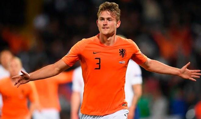 PSG está cerca de cerrar la contratación del holandés Matthijs de Ligt del Ajax
