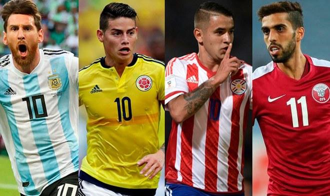 Grupo B de Copa América 2019 Brasil FIXTURE completo convocados partidos canales Argentina, Colombia, Paraguay y Qatar