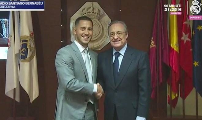 Real Madrid: Eden Hazard es presentado EN VIVO HOY en el Santiago Bernabéu