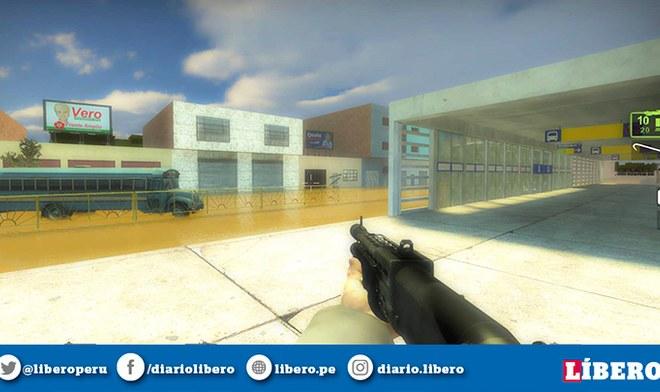 Facebook: Recrean Metropolitano y Centro de Lima en Left 4 Dead 2