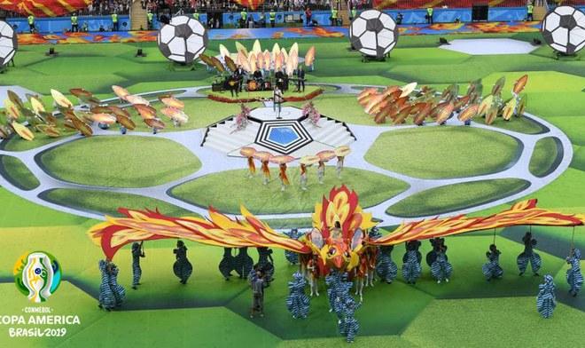 Inauguración de la Copa América EN VIVO