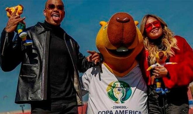 Leo Santana y Karol G estarán a cargo de la inauguración de la Copa América 2019