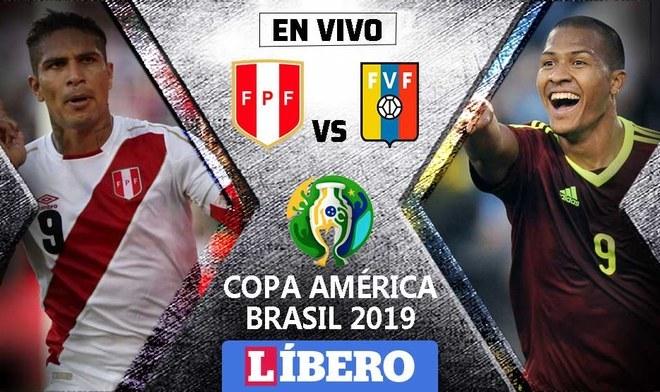 Perú vs Venezuela EN VIVO AMÉRICA TV a que hora se juega ONLINE DIRECTV Sports por la Copa América 2019   Primera fecha   Grupo A
