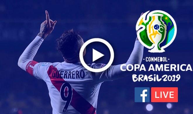 América TV GO EN VIVO Perú vs Venezuela hora peruana EN VIVO