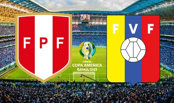 EN VIVO Perú vs Venezuela hora peruana canal América TV GO ONLINE Caracol Colombia y Fox Sports partidos hoy Copa América 2019 Brasil, México