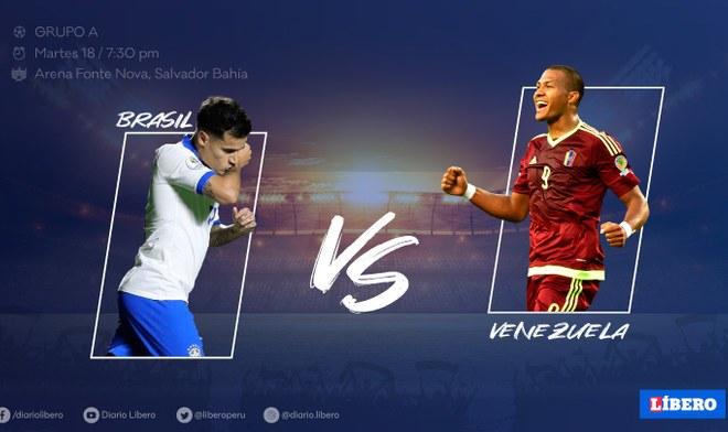 Brasil vs Venezuela, Copa América 2019, DirecTV, América TV, EN VIVO