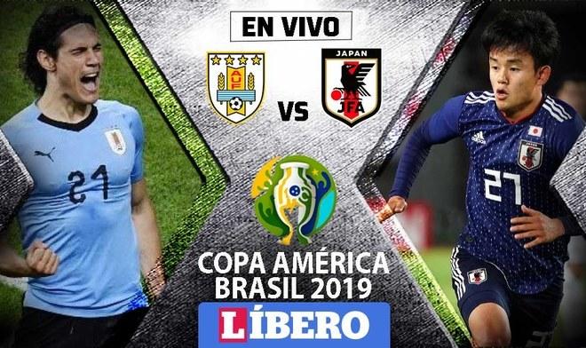 Uruguay vs Japón EN VIVO por la segunda jornada del Grupo C de la Copa América 2019