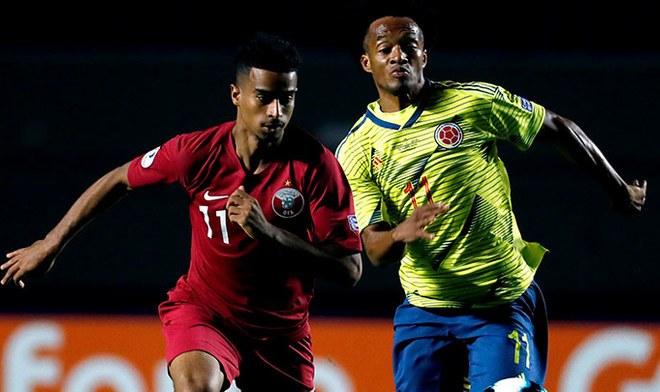 ONLINE Colombia vs Qatar HOY GRATIS Caracol TV, RCN y América TV EN VIVO partidos Copa América hora peruana predicciones y apuestas fecha y canal ONLINE GRATIS Colombia DirecTV Sports