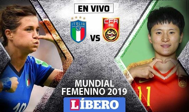 Italia vs China Mundial Femenino 2019 como, cuando y donde VER EN VIVO ONLINE DirecTV Sports por los octavos de final