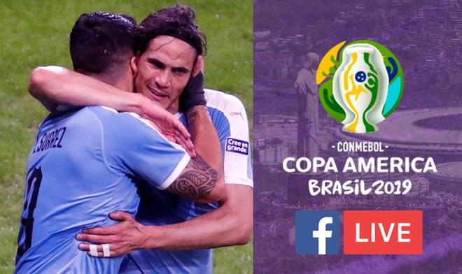 Partido de hoy Copa América 2019 EN VIVO Uruguay vs Chile hora Montevideo ONLINE Canal VTV América TV Go EN VIVO Teledoce DirecTV Link Streaming Copa América Suárez VIDEO Grupo C
