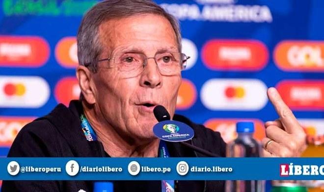 Óscar Tabárez elogia a Perú previo al crucial duelo por los cuartos de final l Fuente: EFE