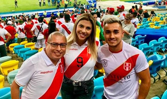 Paolo Guerrero y Alondra García Miró son captados juntos en Brasil
