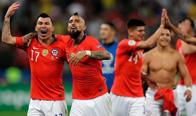 Chile venció a Colombia