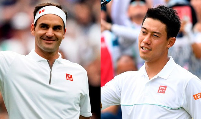 Roger Federer, Kei Nishikori, En Vivo, Wimbledon 2019