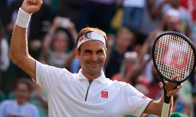 Roger Federer. FOTO: Wimbledon